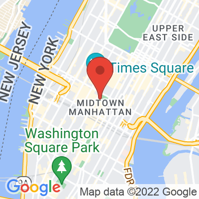 Map showing Blue Bottle Coffee — Bryant Park
