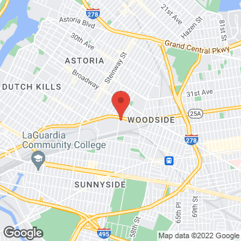 Map of Guitar Center at 34-17 48th St, Long Island City, NY 11101