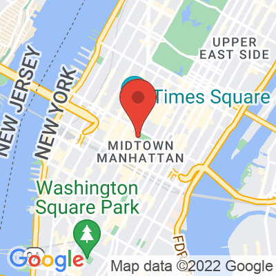 Map showing Joe Coffee Company — Bryant Park