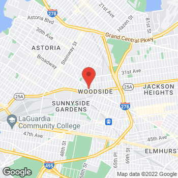 Map of Staples at 51-10 Broadway, Woodside, NY 11377