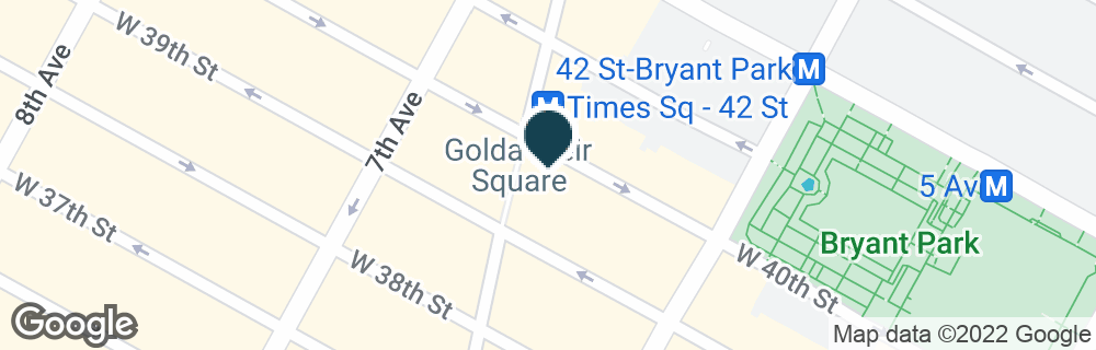 Google Map of1430 BROADWAY