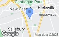 Map of Hicksville, NY