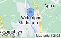Map of Walnutport, PA