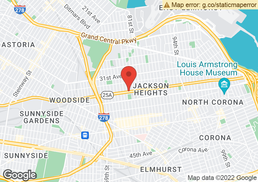 Google Map of 78-11-15 NORTHERN BLVD