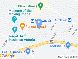 Map of Never Alone Pets Dog Boarding options in Astoria | Boarding