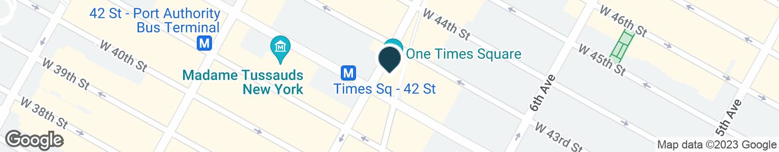 Google Map of1471 BROADWAY