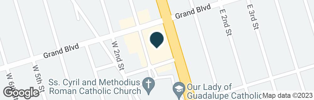 Google Map of1770 DEER PARK AVE