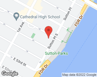 New York City Real Estate | View 20 Sutton Place South, #11B | map