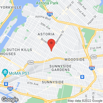 Map of Rite Aid at 32-87 Steinway Street, Astoria, NY 11103