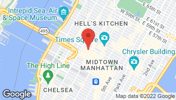 Map of 625 8th Ave in New York