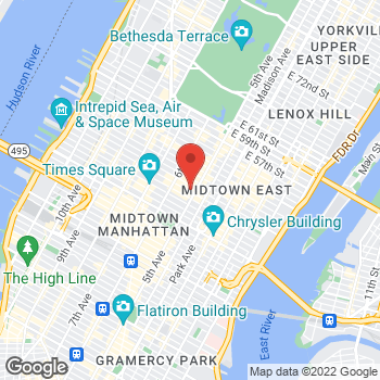 Map of Charlotte Tilbury - Sephora 5th Avenue at 580 5th Avenue, New York, NY 10036