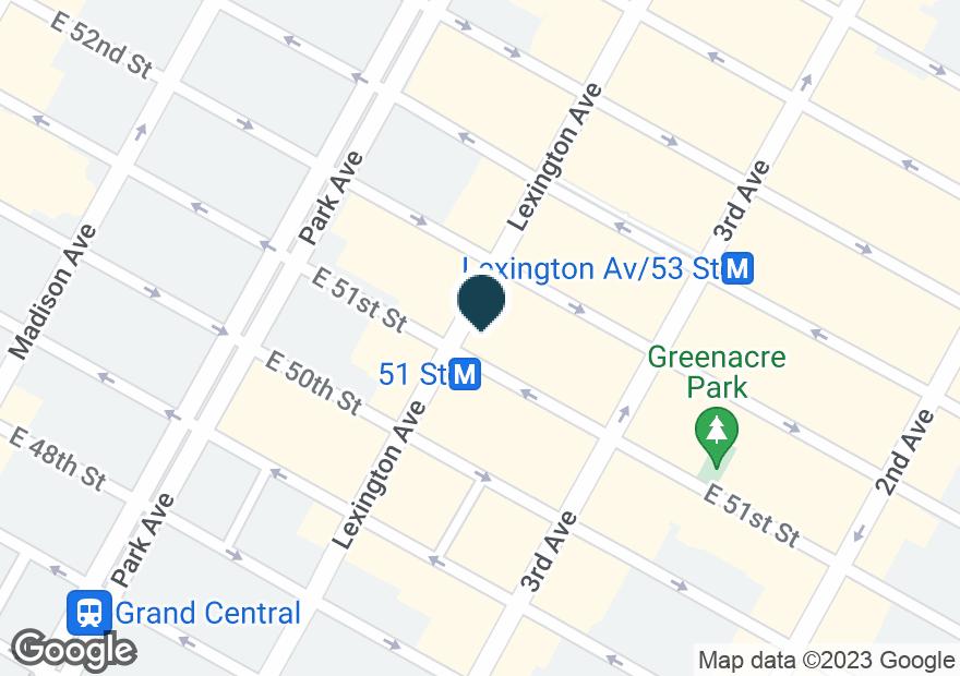 Google Map of575 LEXINGTON AVE