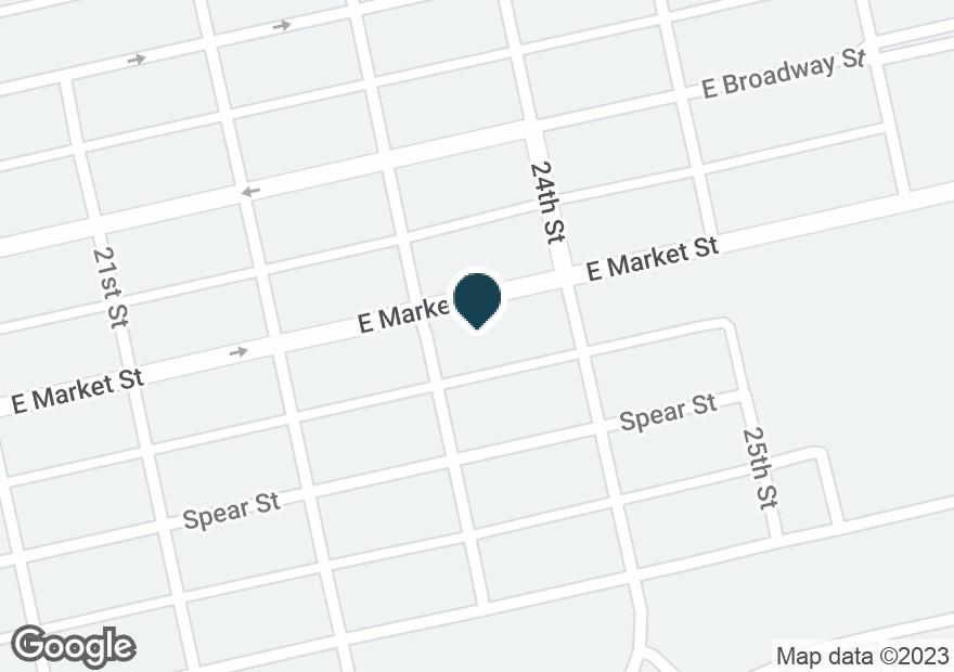 Google Map of2301 E MARKET ST