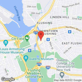 Map of Bed Bath & Beyond at 40-24 College Point Boulevard, Flushing, NY 11354