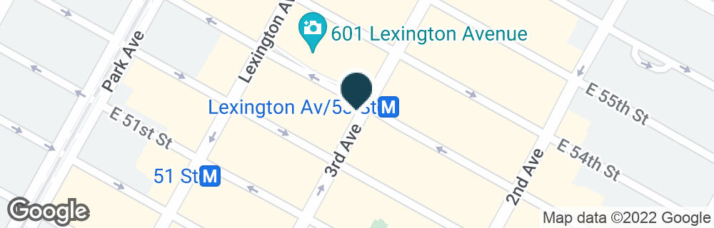 Google Map of866 3RD AVE