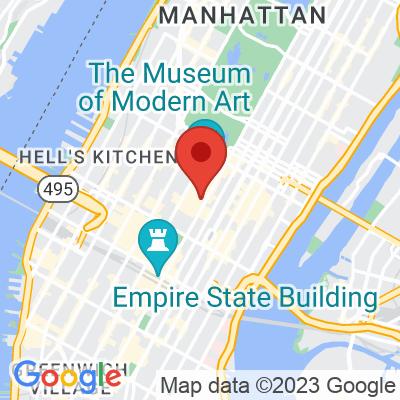 Map showing Blue Bottle Coffee — Rockefeller Center
