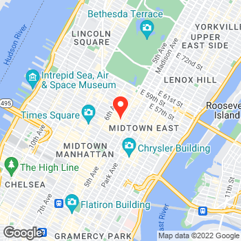 Map of Cole Haan at 620 Fifth Avenue, New York, NY 10020