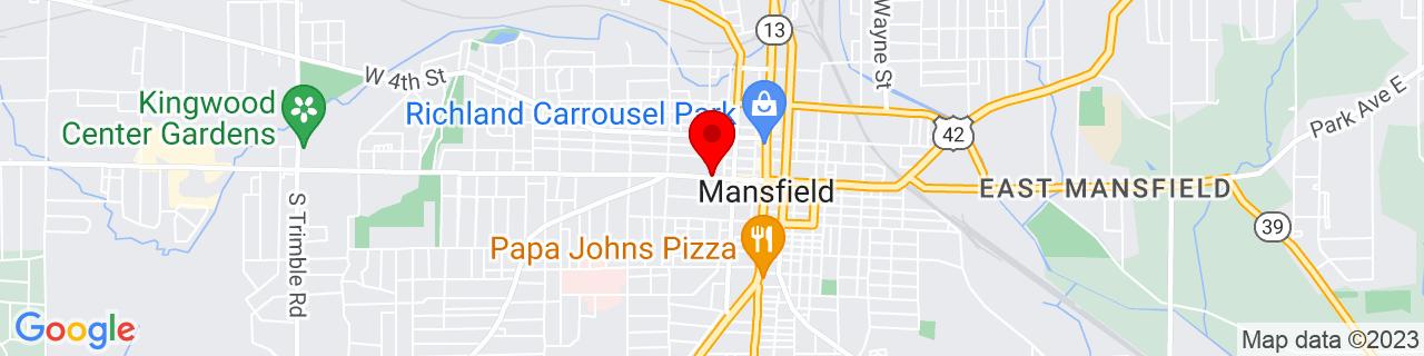 Google Map of 40.758741, -82.51970659999999
