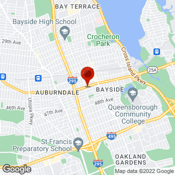 Map of Staples® Print & Marketing Services at 209-34 Northern Blvd., Bayside, NY 11361
