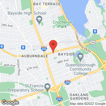 Map of Staples at 209-34 Northern Blvd, Bayside, NY 11361