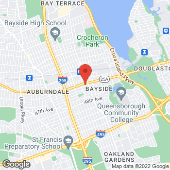 Map of Sprint at 213-04 Northern Blvd, Bayside, NY 11361