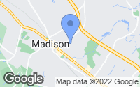 Map of Madison, NJ