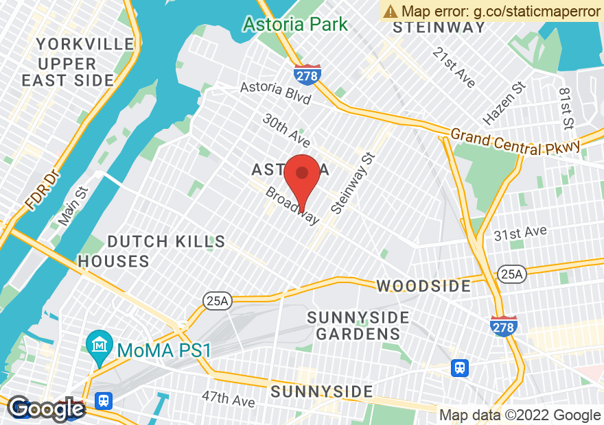 Google Map of 3506 BROADWAY