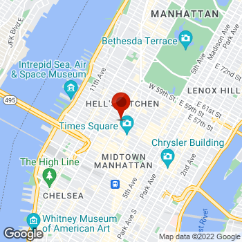 Map of Staples® Print & Marketing Services at 776 8th Ave, Manhattan, NY 10036