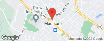 Map of 15 Park Ave in Madison