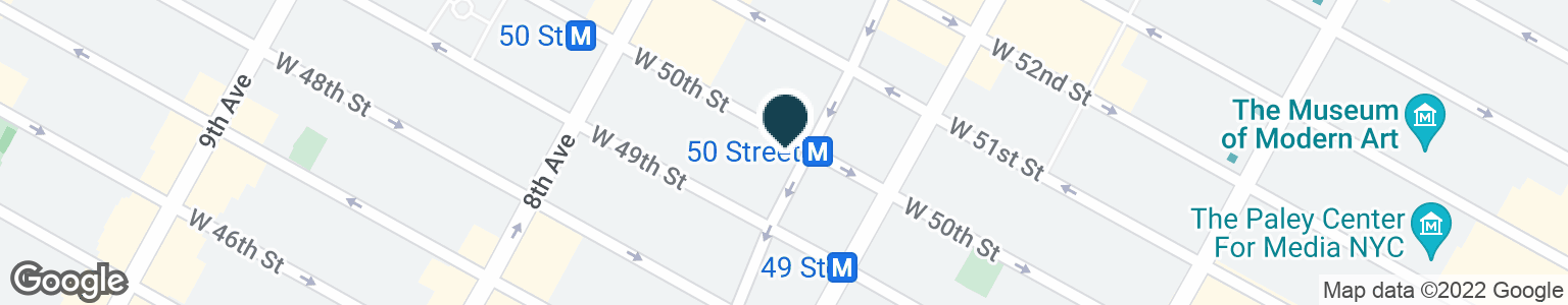 Google Map of1627 BROADWAY