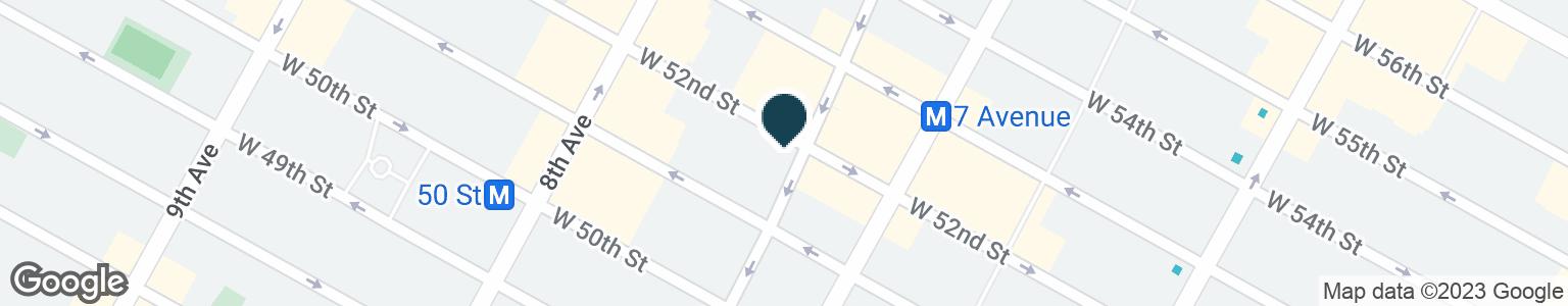 Google Map of1657 BROADWAY