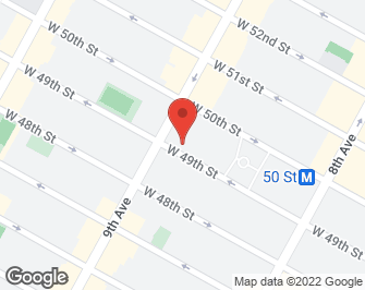 New York City Real Estate | View 393 West 49th Street, #3MM | map