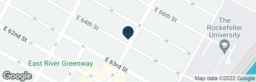 Google Map of1187 1ST AVE