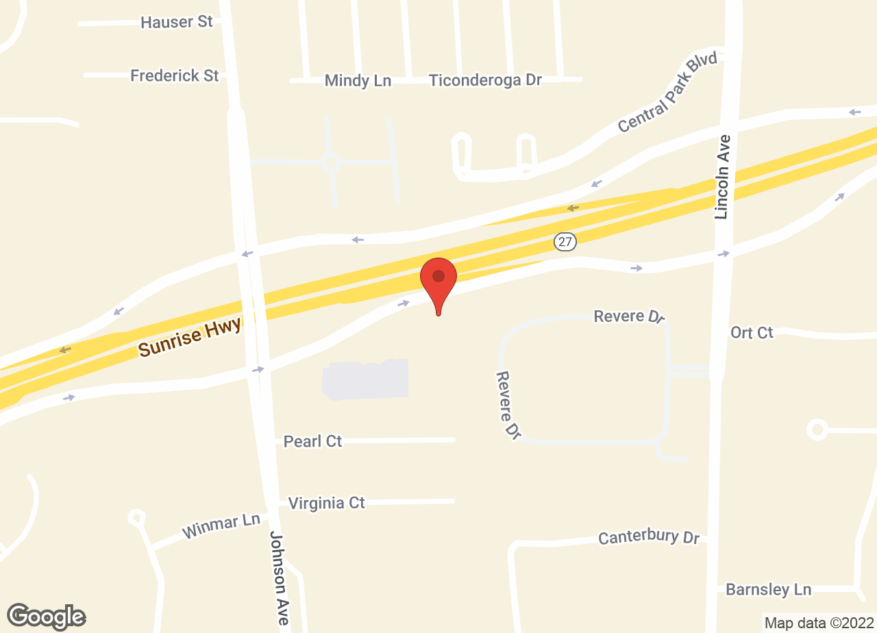 Google Map of Sayville Animal Hospital