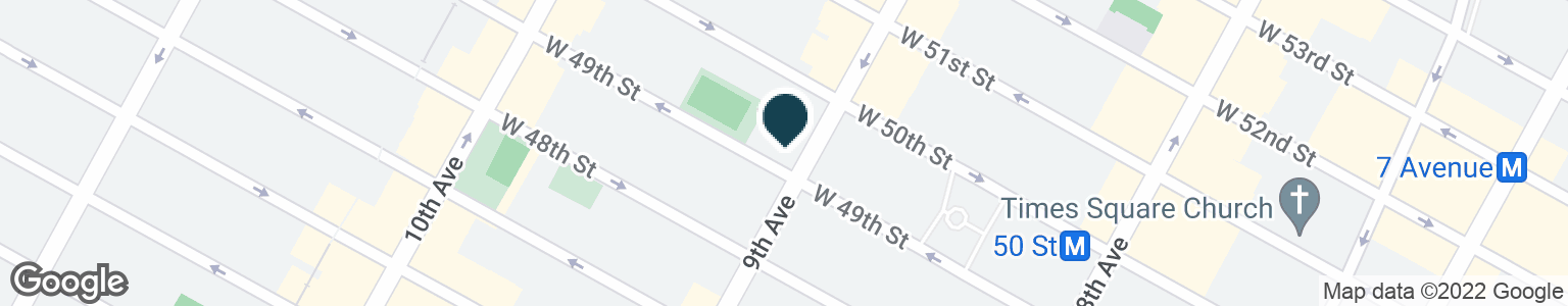 Google Map of721 9TH AVE