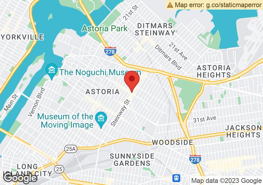 Google Map of 2858 STEINWAY ST