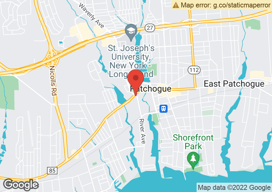 Google Map of 286 W MAIN ST