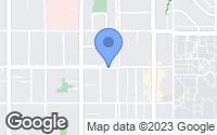 Map of Salt Lake City, UT