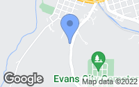 Map of Evans City, PA
