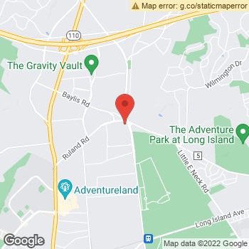 Map of Optimum WiFi Hotspot at 100 Ruland Rd, Melville, NY 11747