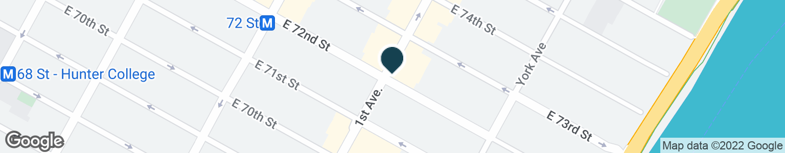 Google Map of1352 1ST AVE