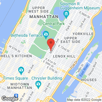 Map of Michael Kors Collection at 790 Madison Ave, New York, NY 10065
