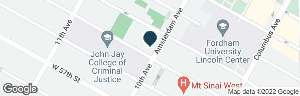 Google Map of4 AMSTERDAM AVE