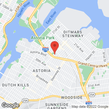 Map of Staples at 24-41 31st Street, Astoria, NY 11102