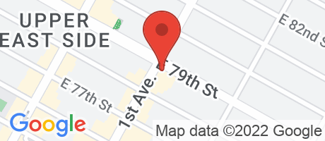 Branch Location Map - Citibank, East End Branch, 1512 First Avenue, New York NY