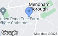 Map of Mendham, NJ