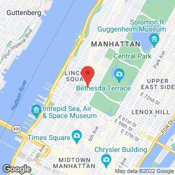Map of Bed Bath & Beyond at 1932 Broadway, New York, NY 10023