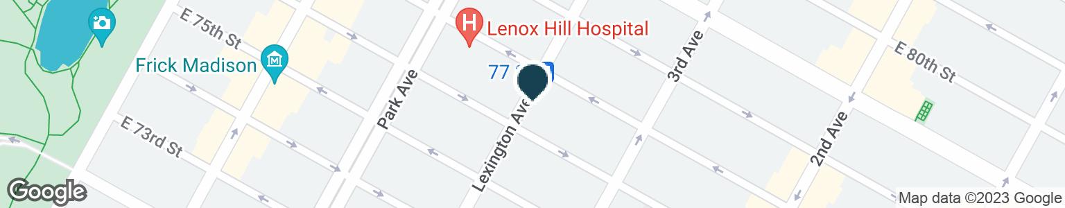 Google Map of1091 LEXINGTON AVE