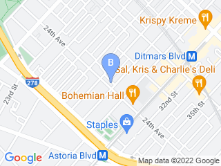 Map of NYC Pet Services Incorporated Dog Boarding options in Astoria | Boarding
