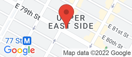 Branch Location Map - Chase Bank, Third Avenue And 79th Street Branch, 201 East 79th Street, New York NY